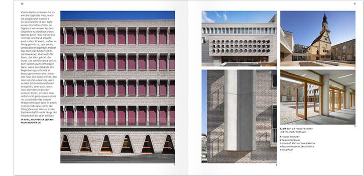 Hospitalhof stuttgart corporate design grafikdesign for Grafikdesign stuttgart